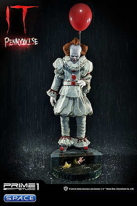 1/2 Scale 2017 Pennywise Statue (Stephen King's It)