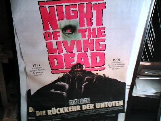 Nigth the living dead Filmplakat