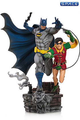 1/10 Scale Batman & Robin Deluxe Art Scale Statue by Ivan Reis (DC Comics)
