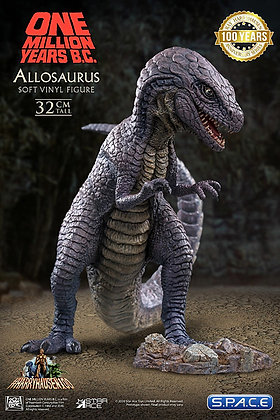 Allosaurus Soft Vinyl Statue (One Million Years B.C.)