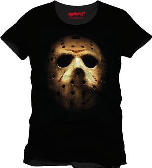 Freitag der 13. T-Shirt Jason Mask