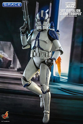 1/6 Scale 501st Battalion Clone Trooper TV Masterpiece TMS022 (Star Wars - The C