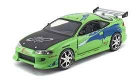 Fast & Furious Diecast Modell 1/18 1995 Mitsubishi Eclipse Fahrzeuge & Vehikel F