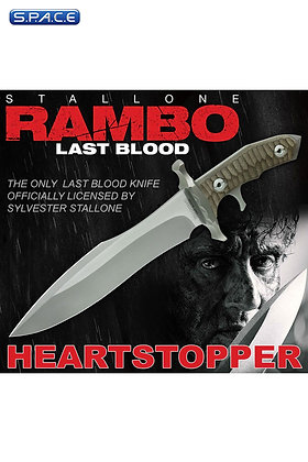 1:1 Heartstopper Knife Life-Size Replica (Rambo: Last Blood)