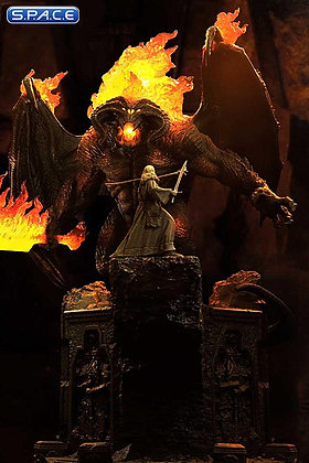 Gandalf vs. Balrog Premium Masterline Diorama (Lord of the Rings)