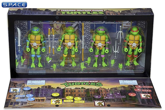 Turtles 4-Pack SDCC 2016 exclusive
