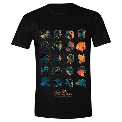 Avengers Infinity War T-Shirt Character Profile
