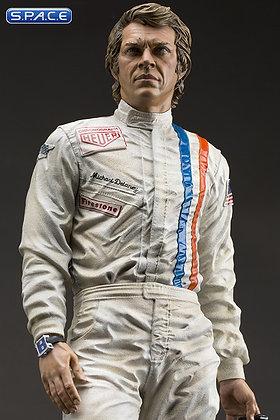 Steve McQueen Old & Rare Statue (Le Mans)