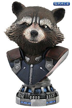 Rocket Raccoon Legends in 3D Bust