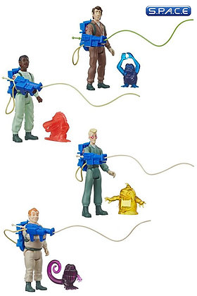 4er Komplettsatz: The Real Ghostbusters Kenner Classics Serie 1 (The Real Ghostb