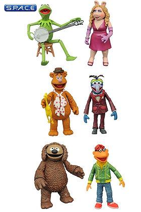 3er Komplettsatz: Best of Muppets Select Serie 1 (Muppets)