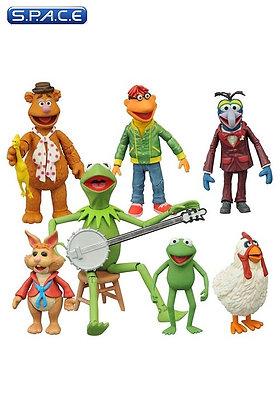 3er Komplettsatz: Muppets Serie 1