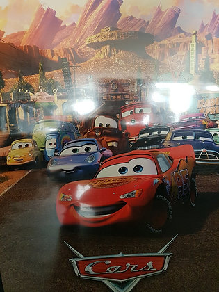Cars - Filmplakat (Zweites Filmplakat)