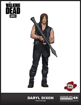 """10"""" Daryl Dixon with Rocket Launcher (The Walking Dead)"""