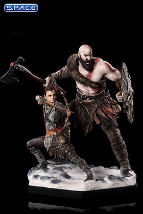 1/10 Scale Kratos & Atreus (God of War)