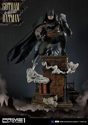 Batman Arkham Origins Statue 1/5 Gotham By Gaslight Batman Black Version 57 cm S
