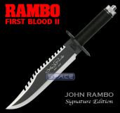 Rambo First Blood Part II Knife Signature Editon