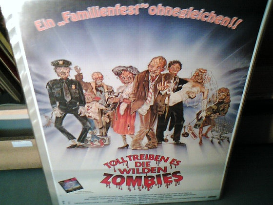 toll treiben es die wilden zombies filmplakat