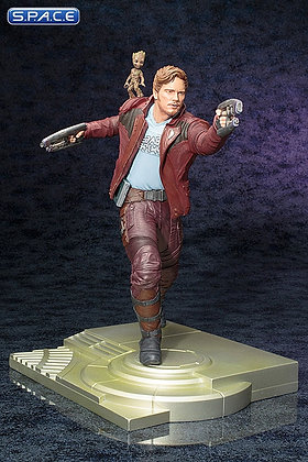 1/6 Scale Star-Lord with Groot ARTFX Statue (Guardians of the Galaxy Vol. 2)