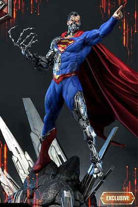 DC Comics Statuen 1/3 Cyborg Superman & Cyborg Superman Exclusive 93 cm Sortimen