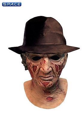 Freddy Krueger Deluxe Latex Mask with Hat (A Nightmare on Elm Street)