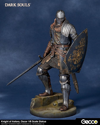 1/6 Scale Oscar Knight of Astora Statue (Dark Souls)