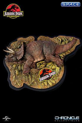 Sick Triceratops Diorama (Jurassic Park)