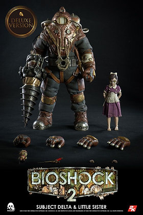 1/6 Scale Subject Delta & Little Sister Deluxe Version (Bioshock