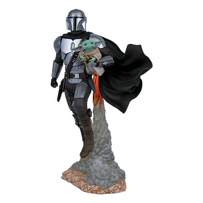Star Wars The Mandalorian Milestones Statue 1/6 The Mandalorian & The Child 41 c
