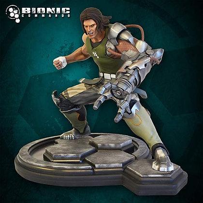 1/4 Scale Nathan Rad Spencer Statue (Bionic Commando)