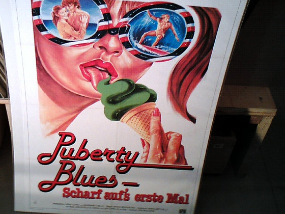 Puberty blues Filmplakat