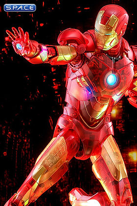1/6 Scale Iron Man Mark IV Holographic Version Movie Masterpiece MMS568 Toy Fair