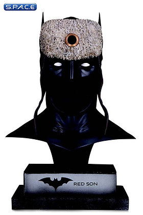 1/2 Scale Red Son Batman Cowl (DC Comics)