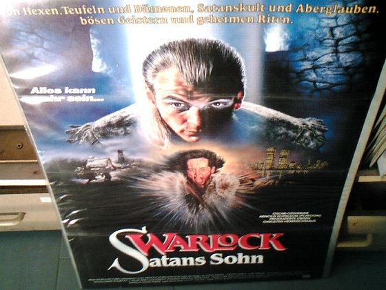 warlock satans sohn filmplakat
