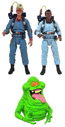 3er Komplettsatz: Ghostbusters Select Serie 9 (The Real Ghostbusters)