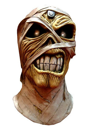 Iron Maiden Latex-Maske Powerslave Mummy