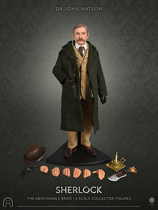 1/6 Scale Dr. John Watson (Sherlock - The Abominable Bride)