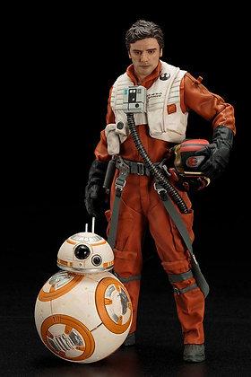 1/10 Scale Poe Dameron & BB-8 ARTFX+ Statue 2-Pack (Star Wars -