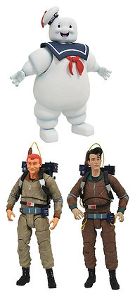 3er Komplettsatz: Ghostbusters Select Serie 10 (The Real Ghostbusters)