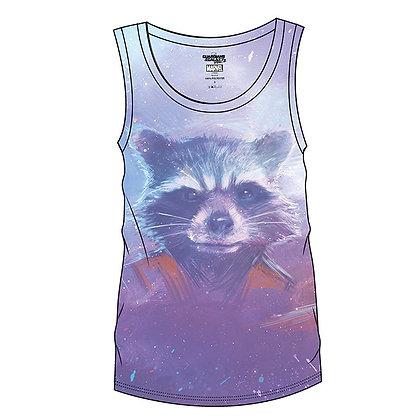 Guardians Of The Galaxy – Rocket Ladies Sublimation Vest