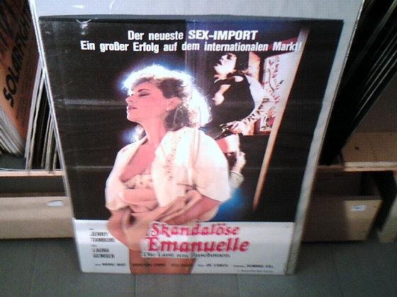 skandalöse emanuelle filmplakat