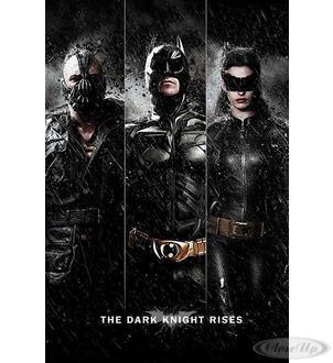 Batman - The Dark Knight Rises Poster Bane, Batman, Catwoman