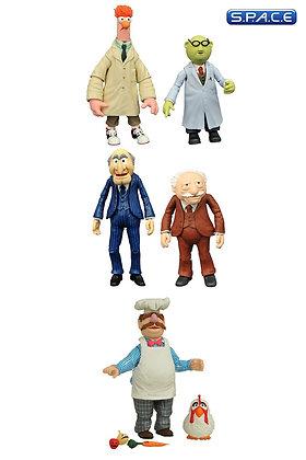 3er Komplettsatz: Best of Muppets Select Serie 2 (Muppets)