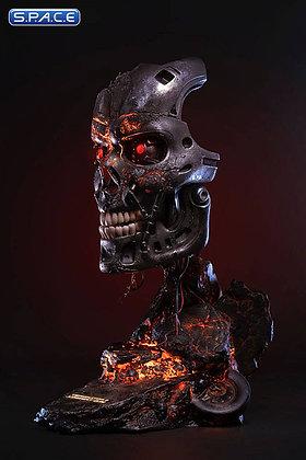 1:1 Battle Damaged T-800 Endoskeleton Life-Size Art Mask (Terminator 2)