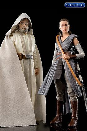 "6"" Rey and Luke Skywalker Box Set SDCC 2017 Exclusive (Star Wars"