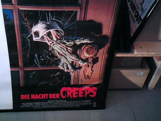 die Nacht der Creeps Filmplakat