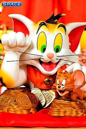 Tom and Jerry Maneki-Neko Bust (Tom and Jerry) Soap Studio