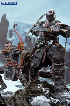 1/4 Scale Kratos & Atreus Deluxe Ultimate Premium Masterline Statue (God of War)
