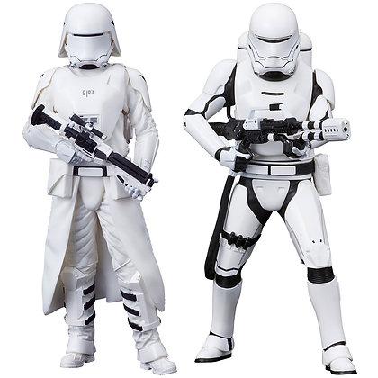 1/10 Scale First Order Snowtrooper & Flametrooper ARTFX+ 2-Pack
