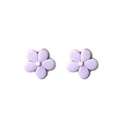 Easy Flower Stud Lilac earrings